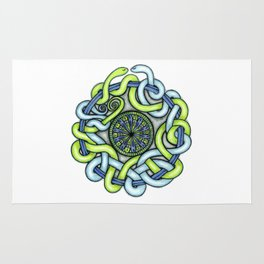 Tangled Serpents Rug