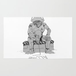 SPACE COWBOY : WE ARE ALONE Rug