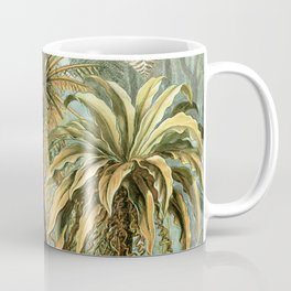 Vintage Tropical Palm Coffee Mug