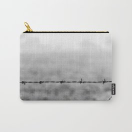 Metal and Wood. Carry-All Pouch