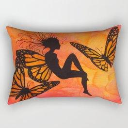 Tiger-Lily Rectangular Pillow