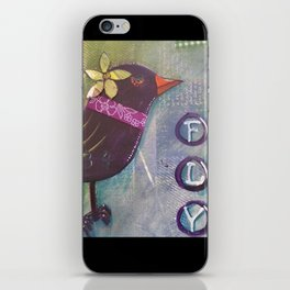 Fly Bird iPhone Skin