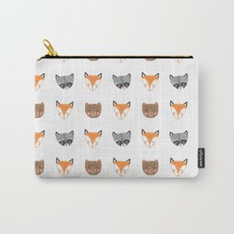 Woodland Creatures Pattern Carry-All Pouch