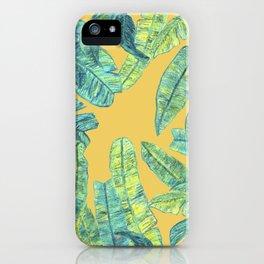 orange tropical daze iPhone Case