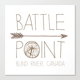 Battle Point Canvas Print