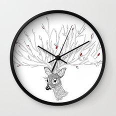 Doris Deer and Friends Wall Clock
