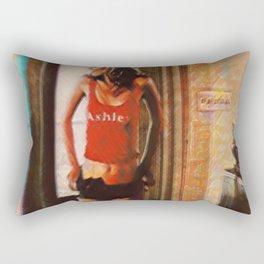 Torpid Rectangular Pillow