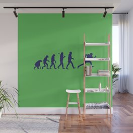 Evolution football Wall Mural