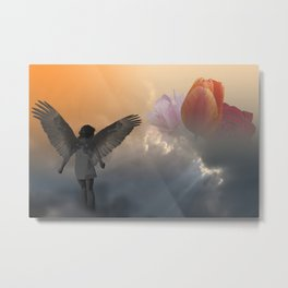 Once a Guardian now an Invader Metal Print