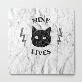 Nine Lives Metal Print