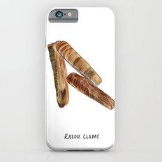 R is For Razor Clams iPhone 6s Slim Case