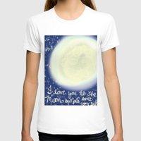 return T-shirts featuring no return by Maria Veluz