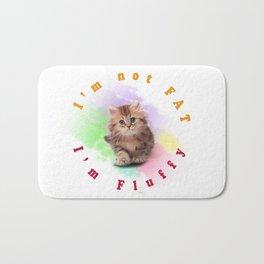Fluffy Cat Bath Mat