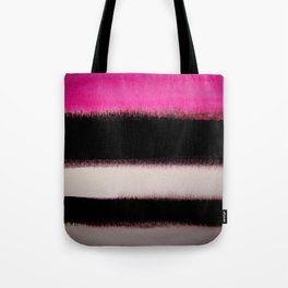 pink&black Tote Bag