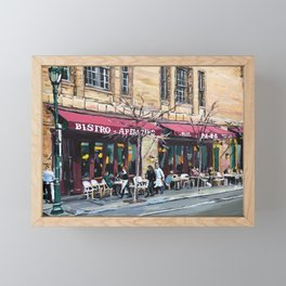 Parc Bistro, Philadelphia, Rittenhouse Square Framed Mini Art Print