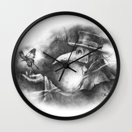 The Resilience of Life Wall Clock