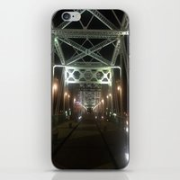 nashville iPhone & iPod Skins featuring Nashville Nights by Anthony J. Newton Designs