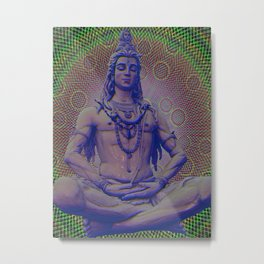 Shiva the Destroyer Metal Print