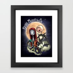 Simply Meant to Be Framed Art Print
