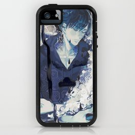 Deep in the Blue iPhone Case