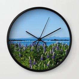 Scenic Alaskan Photography Print Wall Clock