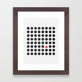 Minimalism 2 Framed Art Print
