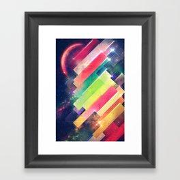 mwwntyp Framed Art Print