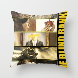 The Blind Banker Throw Pillow