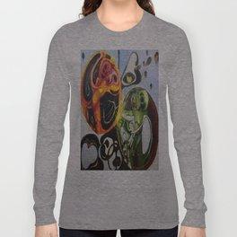 """""""Heart Spores"""" - Oils on original. Long Sleeve T-shirt"""