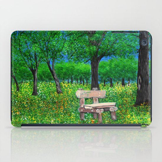 Sit with me  iPad Case