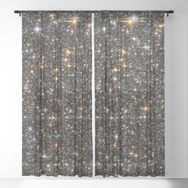 Stars Sheer Curtain