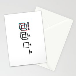 3D stereo Stationery Cards