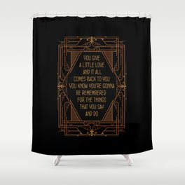 Give A Little Love - Bugsy Shower Curtain