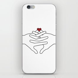 The Power of Love iPhone Skin