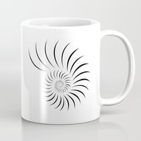shell Mugs featuring Shell by Andrew Formosa