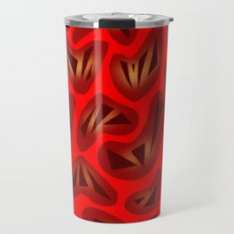 Heartstrings Red Travel Mug