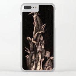 Bound Vertical Clear iPhone Case