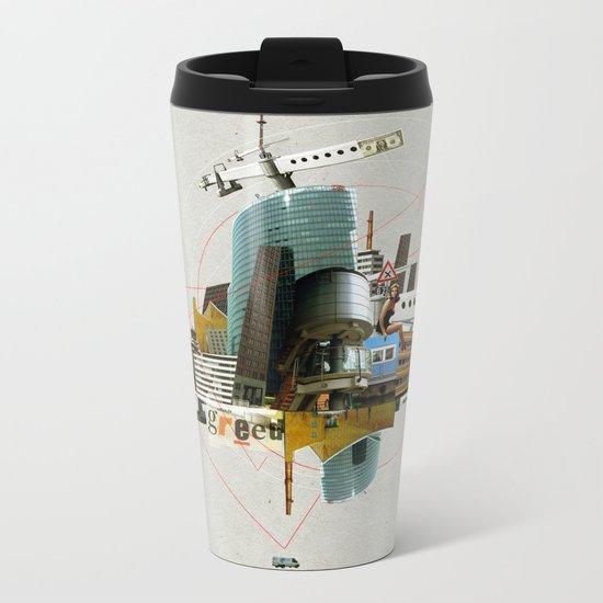 Collage City Mix 3 Metal Travel Mug