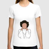 princess leia T-shirts featuring Princess Leia by Blancamccord