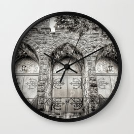 Church Doors, Portland Wall Clock