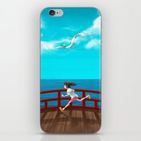 spirited away iPhone & iPod Skins featuring Spirited Away by IllustrateKate