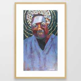 The Tribute Series-Alton Sterling Framed Art Print