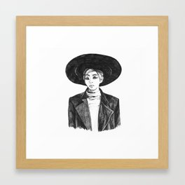 Onew - SHINee Everybody Era Framed Art Print