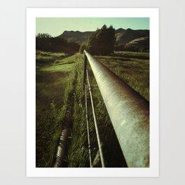 Long Road a Head of Us Art Print