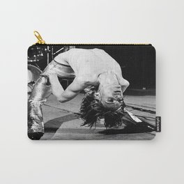 Iggy#Pop performing live classic photo, housewarming gift for him her, photo print, vintage poster, music poster Carry-All Pouch
