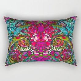 Kaleidoscope Eyes Rectangular Pillow