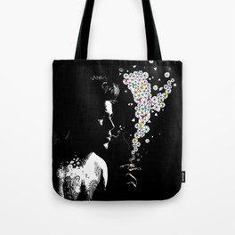 SMOKING BOY Tote Bag