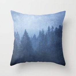 cool woods Throw Pillow