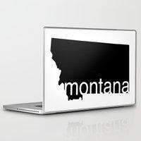 montana Laptop & iPad Skins featuring Montana by Isabel Moreno-Garcia