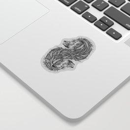 Courage to create Sticker
